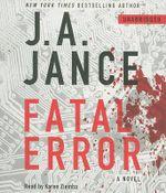 Fatal Error : Ali Reynolds - J A Jance