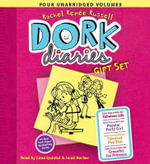 Dork Diaries Gift Set : Tales from a Not-So-Fabulous Life/Tales from a Not-So-Popular Party Girl/Tales from a Not-So-Talented Pop Star/Tales from a Not-So Graceful Ice Princess - Rachel Renee Russell