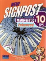 New Signpost Mathematics Enhanced 10 (5.1-5.3) Student Book : Textbook and Student CD - Alan McSeveny