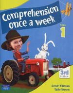 Comprehension Once a Week 1 : 3rd Edition - Brown Elske Tiltman Danah