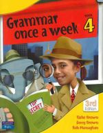 Grammar Once a Week 4 - 3rd Edition - Doug & Monaghan, Bob Brown