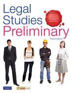 Legal Studies Preliminary : Student Book (3rd Edition) - David Hamper
