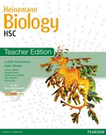 Heinemann Biology HSC :  Teacher's Edition + CD (3rd Edition) - Brotherton & Mudie