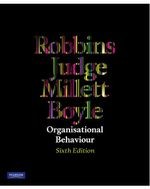 Organisational Behaviour : 6th Edition - Stephen P. Robbins