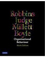Organisational Behaviour : 6th Edition - Stephen P. Robbins