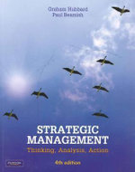 Strategic Management :  Thinking, Analysis, Action - Hubbard