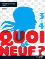 Quoi de neuf ? 3+4 Student Book - Judy & Clarke, Prue Comley
