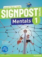 Australian Signpost Maths 1 Mentals  (2e) : Homework Book - Australian Curricullum - Alan McSeveny