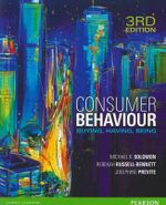 Consumer Behaviour: Buying, Having, Being : 3rd edition, 2012  - Michael Solomon