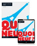 Quoi de neuf ? 1 Student Book/Pearson Reader 1.0 Combo Pack - Judy Comley
