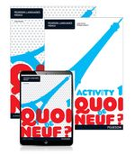 Quoi de neuf ? 1 : Student Book/Activity Book/Pearson Reader 1.0 Combo Pack - Judy Comley