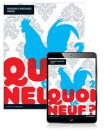 Quoi de neuf ? 2  : Student Book/Pearson Reader 1.0 Combo Pack - Judy Comley