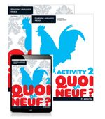 Quoi de neuf ? 2  : Student Book/Activity Book/Pearson Reader 1.0 Combo Pack - Judy Comley