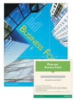 Business Focus HSC  : Student Book/Pearson Reader 1.0 Combo Pack - Mike et al Horsley