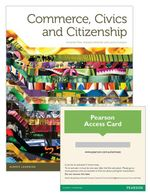 Commerce, Civics and Citizenship  : Student Book/Pearson Reader 1.0 Combo Pack - Amanda Pate