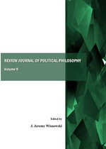 Review Journal of Political Philosophy : Volume 9