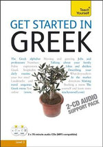 Get Started in Greek : Teach Yourself: Audio Support - Aristarhos Matsukas