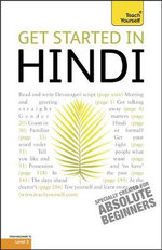Get Started In Hindi : Teach Yourself - Rupert Snell