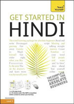Get Started Hindi Book and CD Pack : Teach Yourself - Rupert Snell