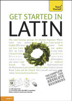 Get Started In Latin - Book / CD Pack : Teach Yourself - G.D.A. Sharpley