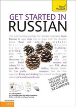 Get Started in Russian - Book / CD Pack : Teach Yourself  - Rachel Farmer