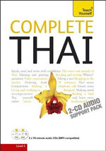 Complete Thai - Audio Support : Teach Yourself  - David Smyth