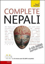 Complete Nepali - Audio Support : Teach Yourself  - Michael Hutt