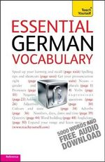 Essential German Vocabulary : Teach Yourself  - Lisa Kahlen