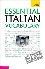 Essential Italian Vocabulary : Teach Yourself  - Mike Zollo