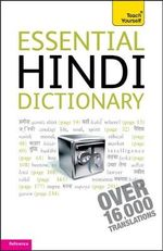 Essential Hindi Dictionary : Teach Yourself - Rupert Snell