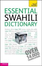Essential Swahili Dictionary : Teach Yourself - D V Perrott
