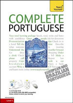 Complete Portuguese - Book / CD Pack : Teach Yourself Complete Courses - Manuela Cook