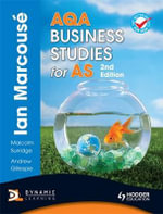 AQA Business Studies for AS - Ian Marcouse