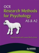 OCR Research Methods for Psychology AS & A2 : Applied Options - Moira Donald