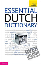 Essential Dutch Dictionary : Teach Yourself - Gerdi Quist
