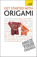 Get Started with Origami : Teach Yourself - Robert Harbin