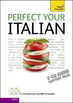 Perfect Your Italian Audio Support 2nd Edition : Teach Yourself - Sylvia Lymbery