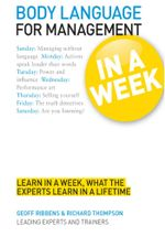 Body Language for Management in a Week : Teach Yourself - Geoff Ribbens