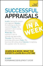 Successful Appraisals in a Week : Teach Yourself - Tina Konstant