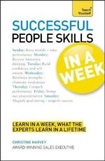 Successful People Skills in a Week : Teach Yourself - John Macdonald