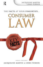 Key Facts : Consumer Law - Jacqueline Martin