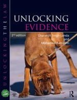Unlocking Evidence : Book & CD-ROM Pack - Chandrajit Singh-Landa