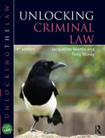Unlocking Criminal Law - Jacqueline Martin