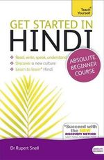 Get Started in Beginner's Hindi : Teach Yourself: Audio Support - Rupert Snell
