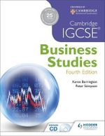 Cambridge IGCSE Business Studies - Karen Borrington