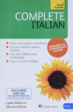 Complete Italian : Teach Yourself - Book & CD Pack - Clelia Boscolo