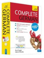 Complete German : Teach Yourself - Book & CD Pack - Heiner Schenke