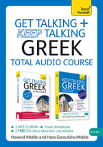 Get Talking and Keep Talking Greek Pack - Howard Middle