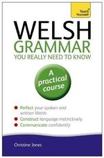 Welsh Grammar You Really Need to Know : Teach Yourself - Christine Jones