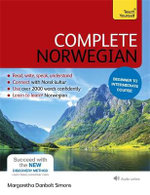 Complete Norwegian : Teach Yourself  - Margaretha Danbolt-Simons